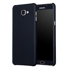 Funda Dura Plastico Rigida Mate M01 para Samsung Galaxy A7 (2017) A720F Negro