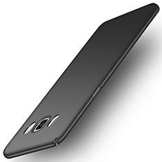 Funda Dura Plastico Rigida Mate M01 para Samsung Galaxy J5 Duos (2016) Negro