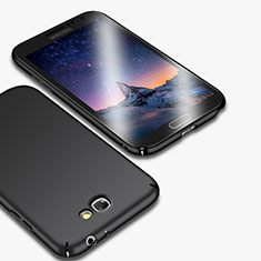 Funda Dura Plastico Rigida Mate M01 para Samsung Galaxy Note 2 N7100 N7105 Negro