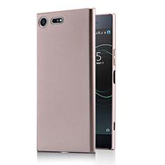 Funda Dura Plastico Rigida Mate M01 para Sony Xperia XZ Premium Oro Rosa