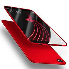 Funda Dura Plastico Rigida Mate M02 para Huawei P8 Lite Rojo