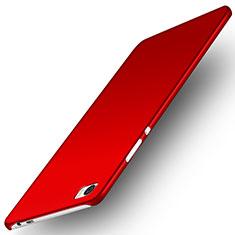 Funda Dura Plastico Rigida Mate M02 para Huawei P8 Max Rojo