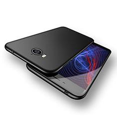 Funda Dura Plastico Rigida Mate M02 para Huawei Y6 (2017) Negro