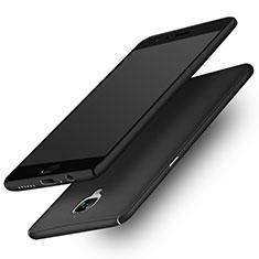 Funda Dura Plastico Rigida Mate M02 para OnePlus 3 Negro