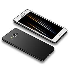 Funda Dura Plastico Rigida Mate M02 para Samsung Galaxy A5 Duos SM-500F Negro