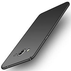 Funda Dura Plastico Rigida Mate M02 para Samsung Galaxy J3 Pro (2016) J3110 Negro