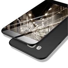 Funda Dura Plastico Rigida Mate M02 para Samsung Galaxy J7 (2016) J710F J710FN Negro