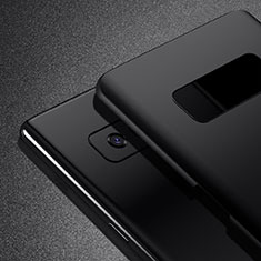 Funda Dura Plastico Rigida Mate M02 para Samsung Galaxy Note 8 Duos N950F Negro