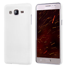Funda Dura Plastico Rigida Mate M02 para Samsung Galaxy On5 G550FY Blanco