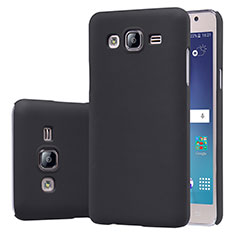 Funda Dura Plastico Rigida Mate M02 para Samsung Galaxy On5 G550FY Negro
