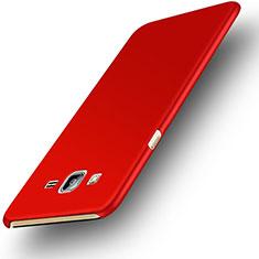 Funda Dura Plastico Rigida Mate M02 para Samsung Galaxy On7 G600FY Rojo