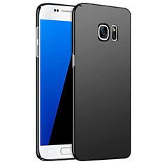 Funda Dura Plastico Rigida Mate M02 para Samsung Galaxy S7 G930F G930FD Negro