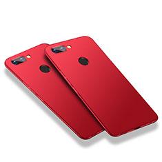 Funda Dura Plastico Rigida Mate M03 para Huawei Honor 9i Rojo