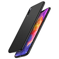 Funda Dura Plastico Rigida Mate M03 para Huawei P20 Negro