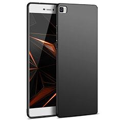 Funda Dura Plastico Rigida Mate M03 para Huawei P8 Lite Negro