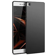 Funda Dura Plastico Rigida Mate M03 para Huawei P8 Negro