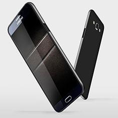 Funda Dura Plastico Rigida Mate M03 para Samsung Galaxy A7 Duos SM-A700F A700FD Negro