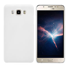 Funda Dura Plastico Rigida Mate M03 para Samsung Galaxy J7 (2016) J710F J710FN Blanco