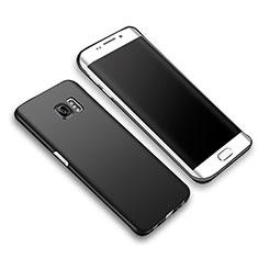Funda Dura Plastico Rigida Mate M03 para Samsung Galaxy S6 Edge+ Plus SM-G928F Negro