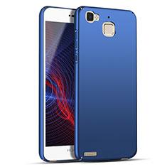 Funda Dura Plastico Rigida Mate M04 para Huawei G8 Mini Azul
