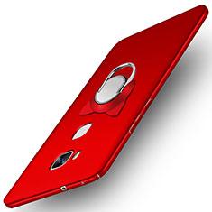 Funda Dura Plastico Rigida Mate M04 para Huawei GR5 Rojo