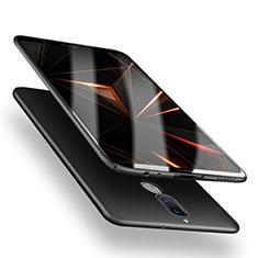 Funda Dura Plastico Rigida Mate M04 para Huawei Rhone Negro