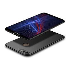 Funda Dura Plastico Rigida Mate M04 para Huawei Y7 (2018) Negro