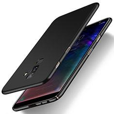 Funda Dura Plastico Rigida Mate M04 para Samsung Galaxy A6 Plus Negro