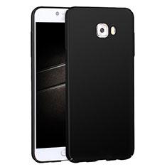 Funda Dura Plastico Rigida Mate M04 para Samsung Galaxy C7 Pro C7010 Negro
