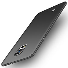 Funda Dura Plastico Rigida Mate M04 para Samsung Galaxy Note 4 Duos N9100 Dual SIM Negro