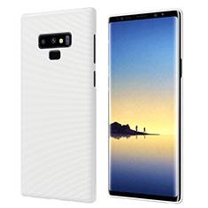 Funda Dura Plastico Rigida Mate M04 para Samsung Galaxy Note 9 Blanco