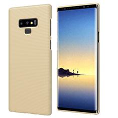 Funda Dura Plastico Rigida Mate M04 para Samsung Galaxy Note 9 Oro