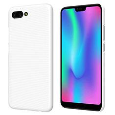 Funda Dura Plastico Rigida Mate M05 para Huawei Honor 10 Blanco