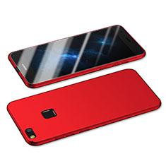 Funda Dura Plastico Rigida Mate M05 para Huawei Honor 8 Lite Rojo