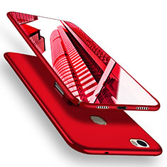 Funda Dura Plastico Rigida Mate M05 para Huawei Honor V8 Max Rojo