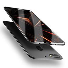 Funda Dura Plastico Rigida Mate M05 para Huawei Y7 (2018) Negro
