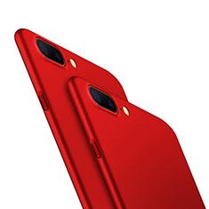 Funda Dura Plastico Rigida Mate M05 para OnePlus 5 Rojo