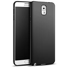 Funda Dura Plastico Rigida Mate M05 para Samsung Galaxy Note 3 N9000 Negro