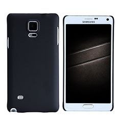 Funda Dura Plastico Rigida Mate M05 para Samsung Galaxy Note 4 SM-N910F Negro