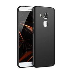 Funda Dura Plastico Rigida Mate M06 para Huawei G9 Plus Negro