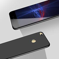 Funda Dura Plastico Rigida Mate M06 para Huawei P8 Lite (2017) Negro