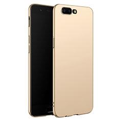 Funda Dura Plastico Rigida Mate M06 para OnePlus 5 Oro