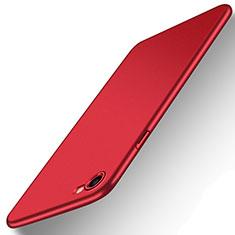 Funda Dura Plastico Rigida Mate M07 para Apple iPhone SE (2020) Rojo