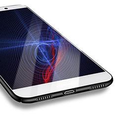 Funda Dura Plastico Rigida Mate M07 para Huawei Enjoy 7 Plus Negro