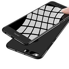 Funda Dura Plastico Rigida Mate M07 para Huawei Honor 8 Negro