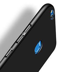 Funda Dura Plastico Rigida Mate M07 para Huawei P8 Lite (2017) Negro
