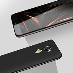 Funda Dura Plastico Rigida Mate M08 para Huawei Y7 Prime Negro