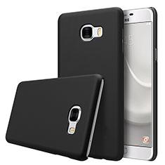 Funda Dura Plastico Rigida Mate M08 para Samsung Galaxy C7 SM-C7000 Negro