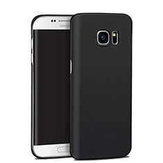 Funda Dura Plastico Rigida Mate M11 para Samsung Galaxy S7 Edge G935F Negro