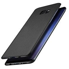 Funda Dura Plastico Rigida Mate M15 para Samsung Galaxy S7 Edge G935F Negro